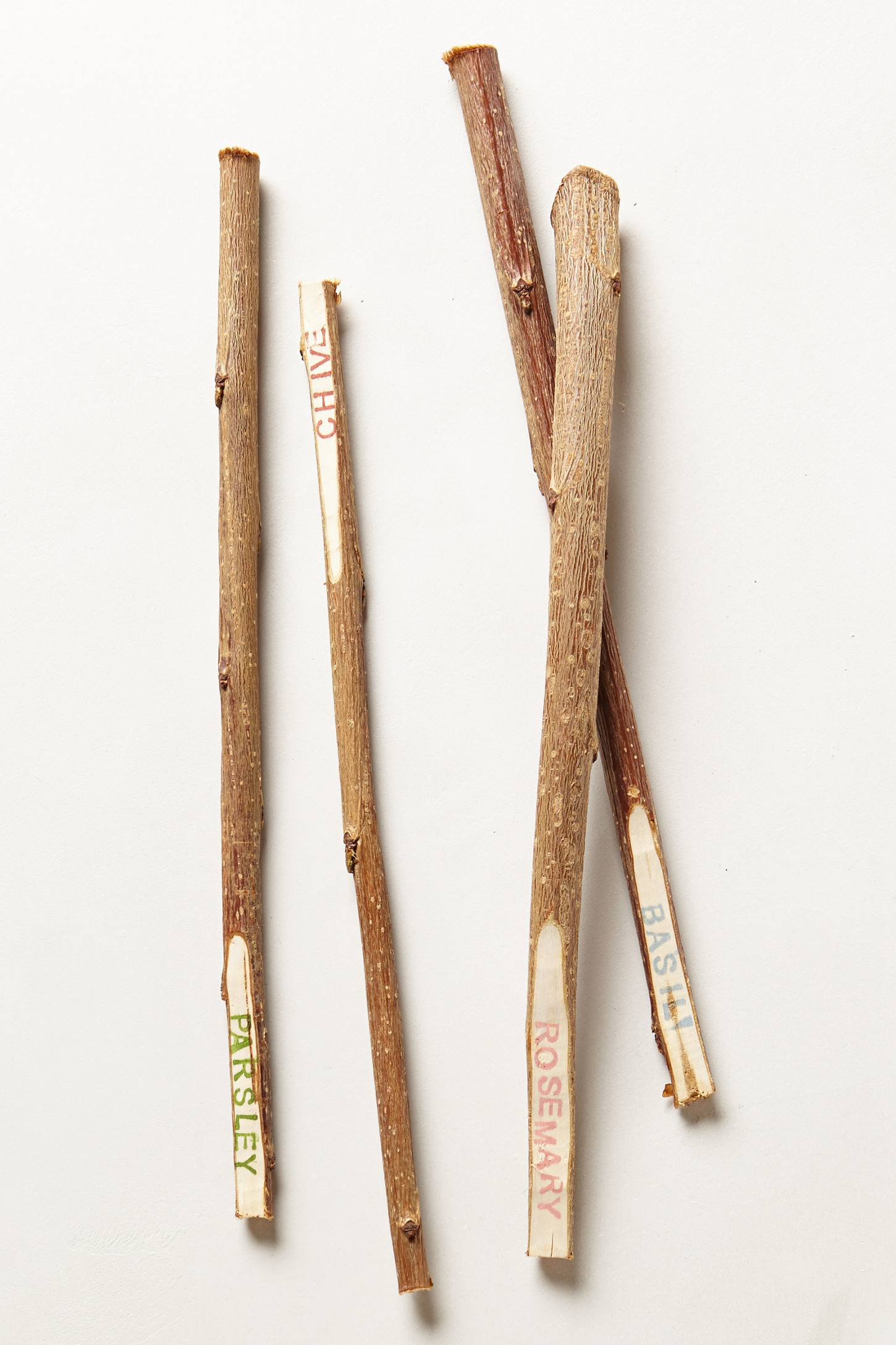 {DIY} Twig Garden Markers ~ Anthropologie Knock-Off ...