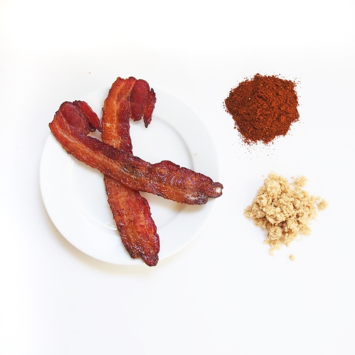 {Recipe} Sweet & Spicy Brown Sugar Chili Powder Bacon