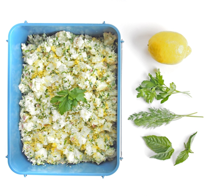 {Recipe} Zesty Potato Salad with Lemon & Fresh Herbs