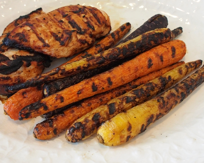 {Recipe} Grilled Rainbow Carrots