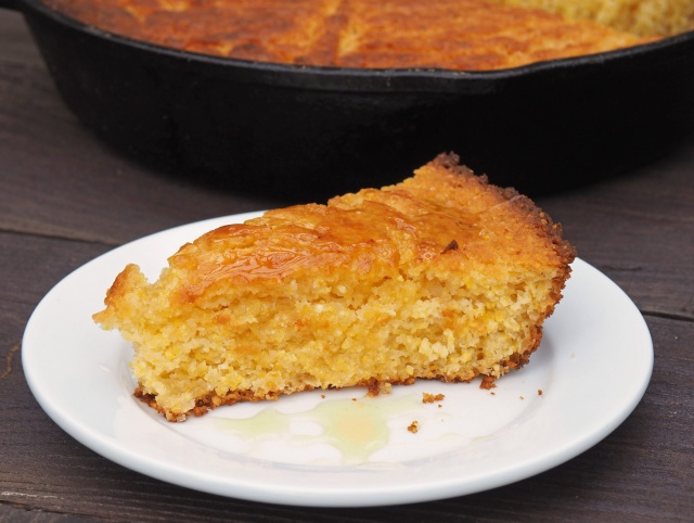 {Recipe} Honey Sweetened Skillet Cornbread
