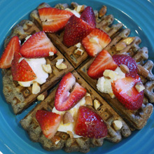 {Recipe} Healthy AND Delicious Buckwheat Waffles