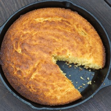 {Recipe} Honey Sweetened Skillet Cornbread