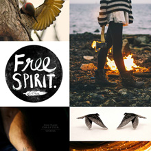 {Inspiration Board} Free Spirit