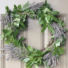 {DIY} Culinary Herb Wreath