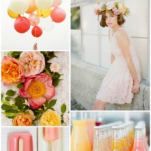 {Wedding Inspiration Board} Mimosa