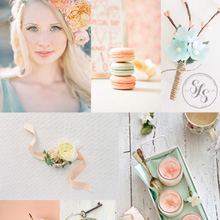 {Wedding Inspiration} Peach, Mint, & Apricot Blush