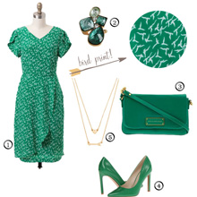 {Outfit Inspiration} Dreaming of Spring Green
