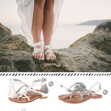{Weddings} Bridal Sandals – Not Just for Beach Weddings