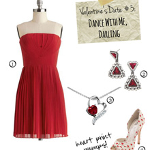 {Outfit Inspiration} Valentine's Date #3 – Dance with Me, Darling