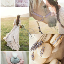 {Wedding Inspiration Board} Lavender Fields