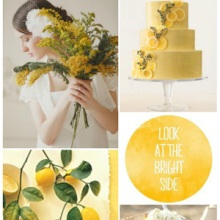 {Wedding Inspiration Board} Sweet Lemon